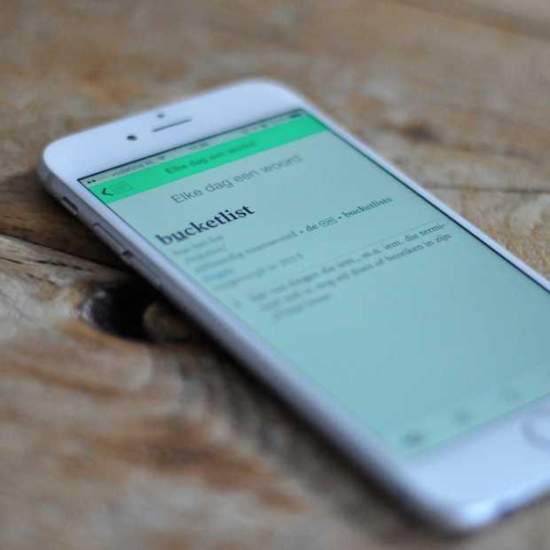 De Dikke Van Dale 15 app: schatkamer van de Nederlandse taal
