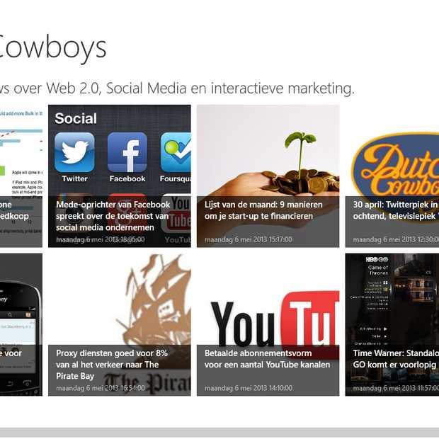 App in a Snap - iedereen zijn eigen Windows 8 app