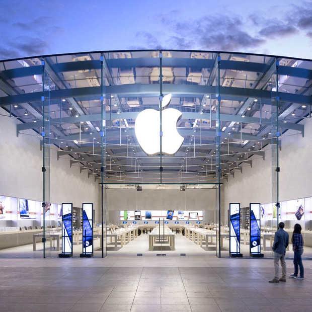 Apple maakt sinds lange tijd minder winst