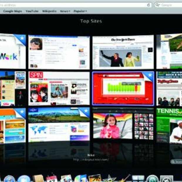 Apple brengt testversie Safari 4 uit