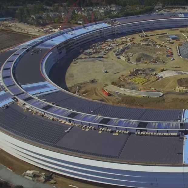 Apple Campus 2 is bijna af en zo ziet het eruit