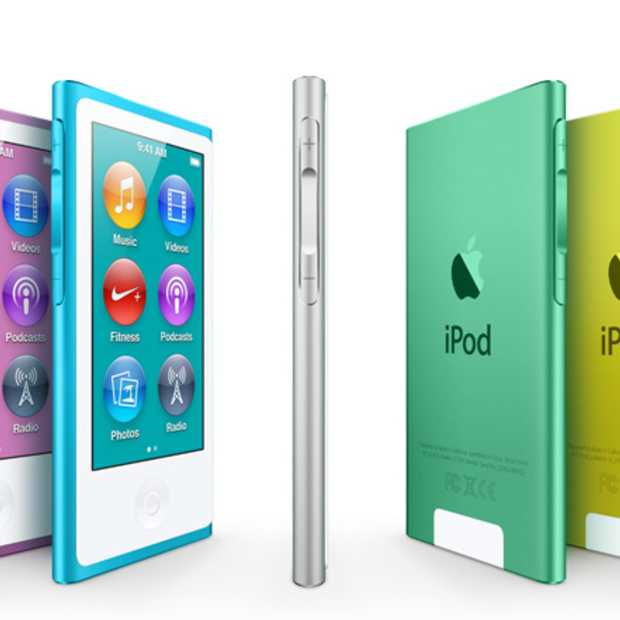 Apple heeft vanavond naast de nieuwe iPhone 5 nieuwe versies van de iPod gepresenteerd