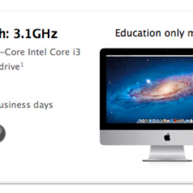 Apple lanceert iMac van $999,-