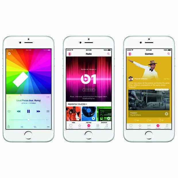 Apple rolt systeem uit dat Apple Music-nummers beter matcht