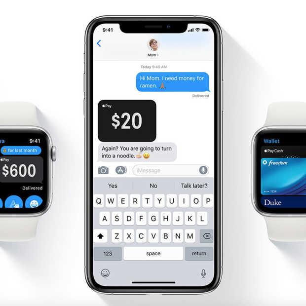 Apple Pay komt eindelijk naar Nederland: ING maakt het mogelijk