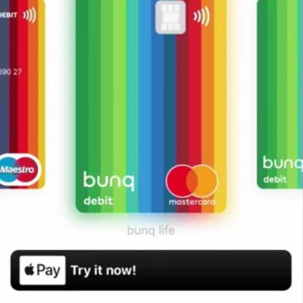 Apple Pay te gebruiken in Nederland via hack van Bunq bank