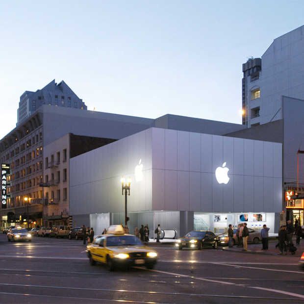 Apple opent nieuwe Store op Union Square