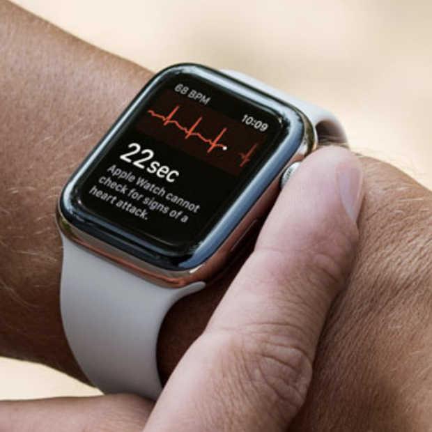 Vanaf nu kun je een ECG maken met je Apple Watch 4