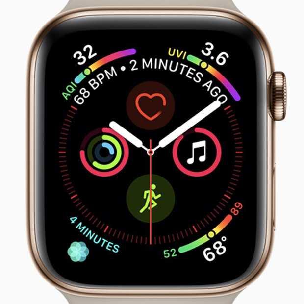Apple Watch Series 4 vernieuwend en mooi