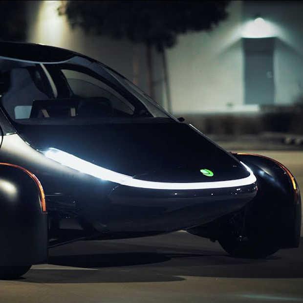 Aptera is een nieuwe auto op zonne-energie