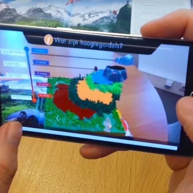 Augmented Reality binnenkort in schoolboeken?