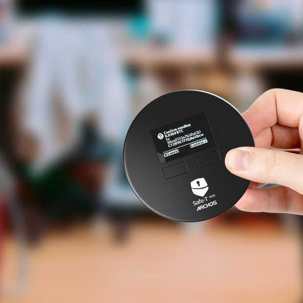 Safe-T mini, een hardware portemonnee voor al je cryptocurrency