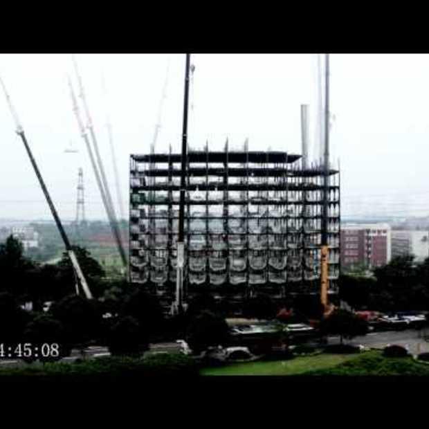 Ark Hotel Construction in 6 dagen