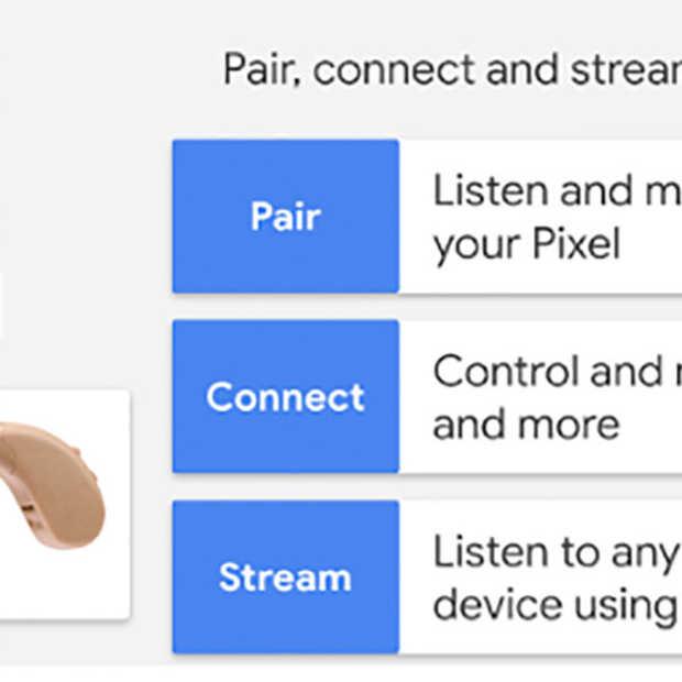 Google komt met ondersteuning voor gehoorapparaten