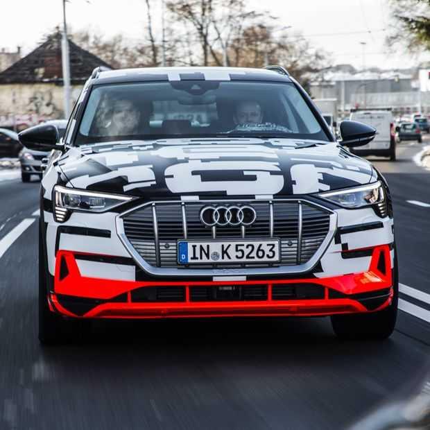 Wil je de eerste elektrische auto van Audi hebben? Pre-orderen!