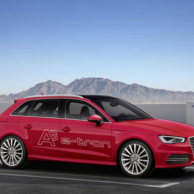 Audi introduceert in Genève de A3 e-tron