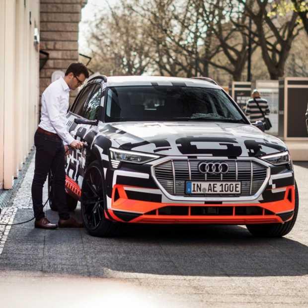 Audi brengt een tailormade laadsysteem voor thuis uit