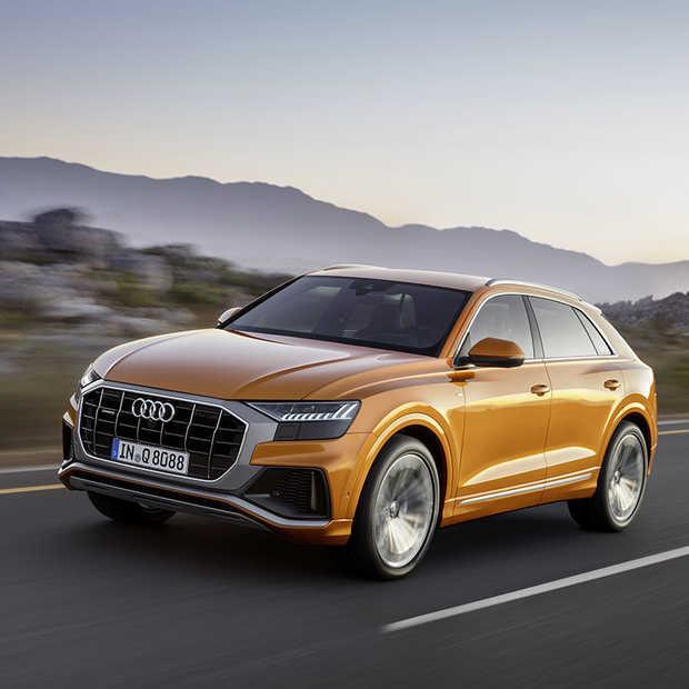 Een nieuwe telg in de Audi-familie: Q8