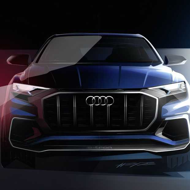 Dit is het concept van de Audi Q8