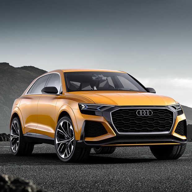 Audi toont in Genève Q8 sport concept