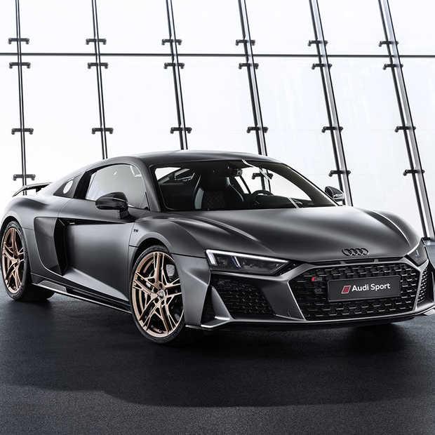 Tien jaar V10: Audi R8 V10 Decennium