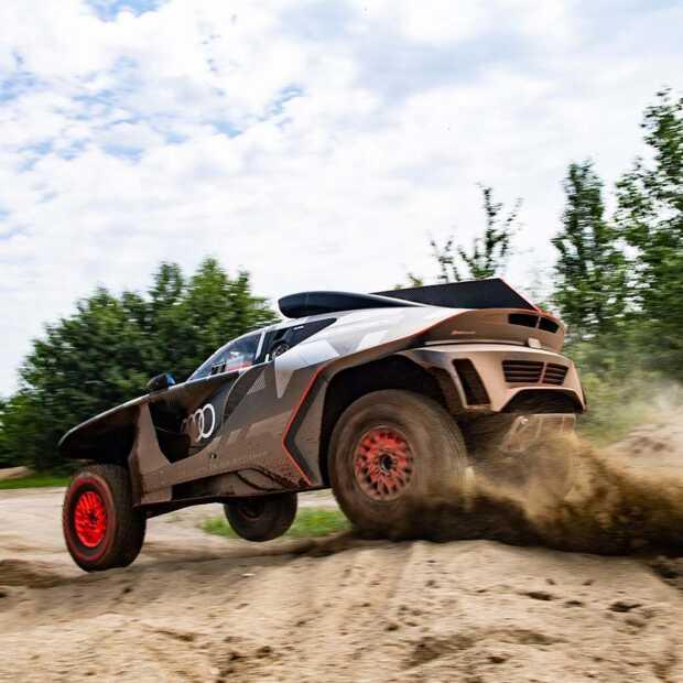 Audi RS Q e-tron: een rijdend testlaboratorium in de Dakar Rally
