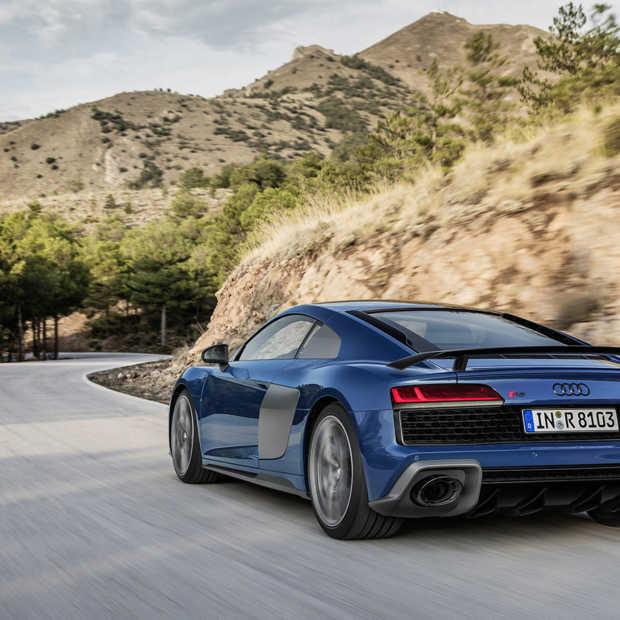 De nieuwe Audi R8 Coupé en Spyder voor 2019