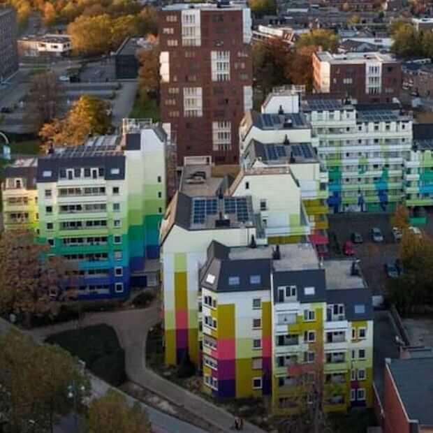 De grootste muurschildering van Europa vind je in Heerlen