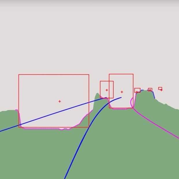 Video: zo ziet een Tesla Autopilot de weg en ons er op