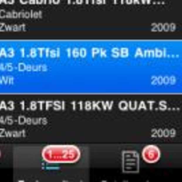 AutoScout24 ook beschikbaar op iPhone