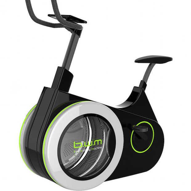 De Bike Washing Machine: de fiets en wasmachine in één