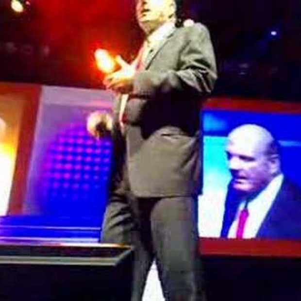Ballmer Keynote tijdens Microsoft partnerdag