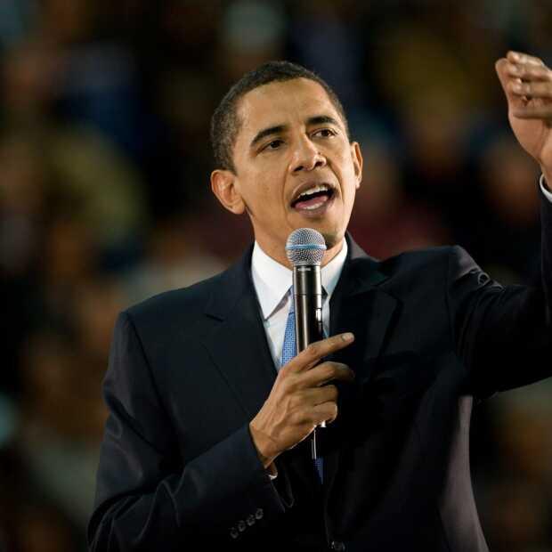 Tijdens Reshape: 'A Conversation with President Barack Obama'