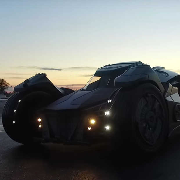 Een Batmobiel powered by Lamborgini