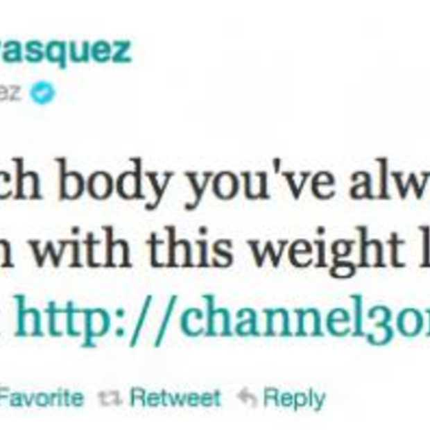 'Beach Body' spam via gehackte Twitter accounts