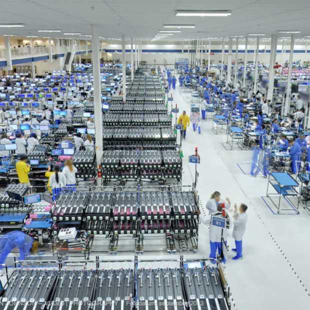 Beelden Motorola fabriek beschikbaar gemaakt via Street View