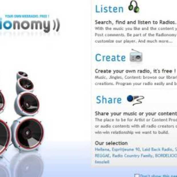 Begin je eigen Webradio!