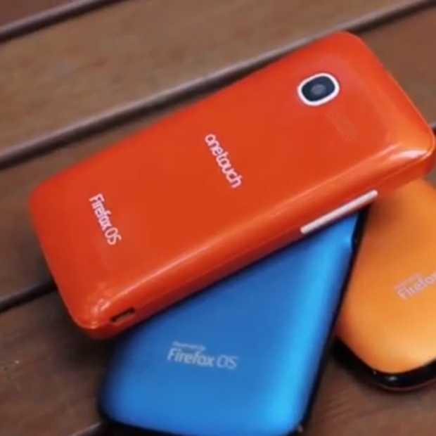 Binnenkort Firefox OS Smartphones
