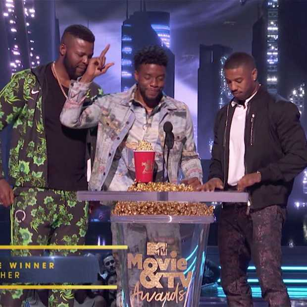 Vier MTV Movie Awards voor Black Panther en Stranger Things