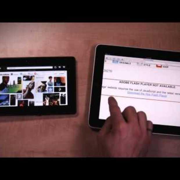 BlackBerry PlayBook en iPad vergeleken