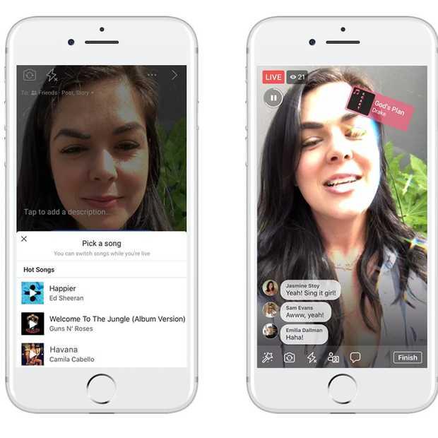 Nieuwe muziek feature op Facebook: Lyp Sync Live