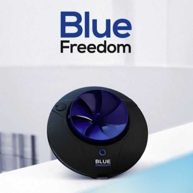 Blue Freedom is de kleinste hydropowerplant ooit