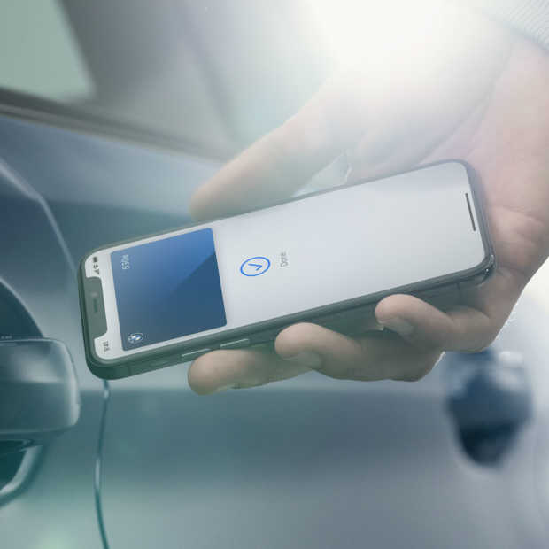 BMW maakt van je iPhone een digitale autosleutel