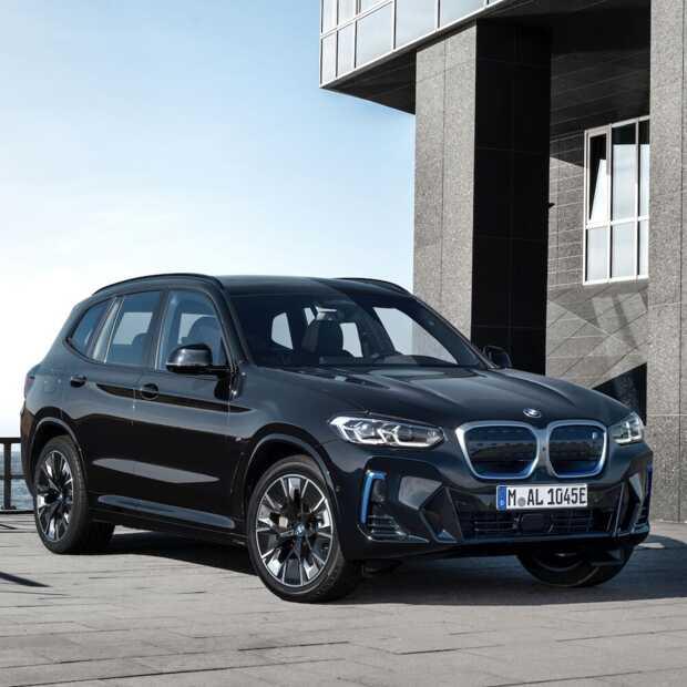 Facelift voor de vernieuwde BMW iX3