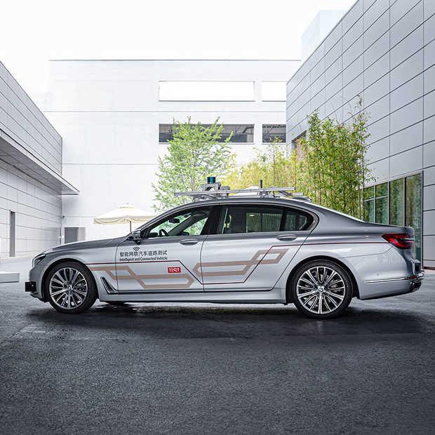 BMW strikt Tencent voor ontwikkeling zelfrijdende auto's in China
