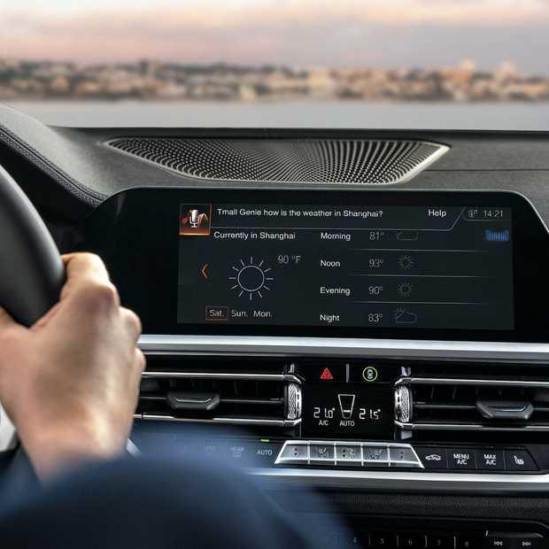 Primeur in China: BMW integreert Alibaba spraakassistent in de auto