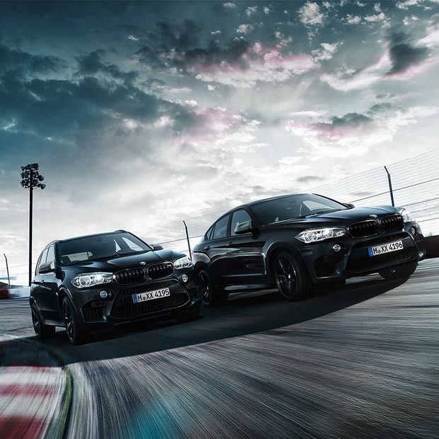 Black Fire Edition van BMW X5 M en X6 M is om te smullen!