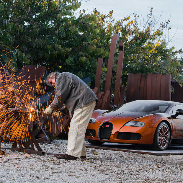 Bugatti presenteert het snelste kunstwerk ter wereld