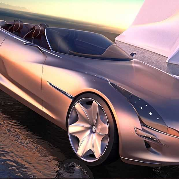 De Buick Evocador concept: Chroom wordt weer hip in 2025