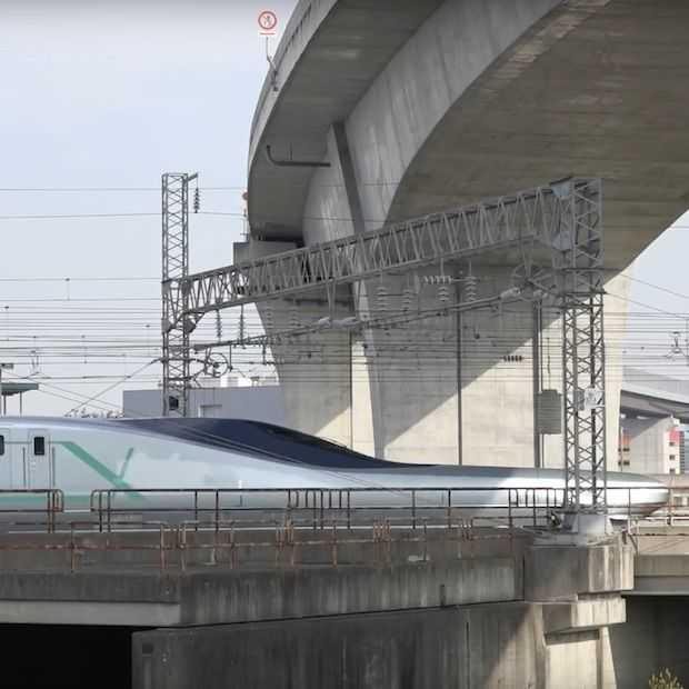 Japan onthult snelste kogeltrein